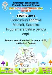 Afise A3 1 Iunie primaria Tarnava 2016