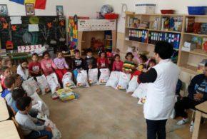 Donație importantă pentru Grădinița din Comuna Tîrnava